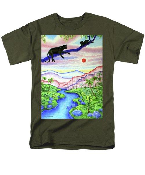 Vista Men's T-Shirt  (Regular Fit) by Tracy Dennison