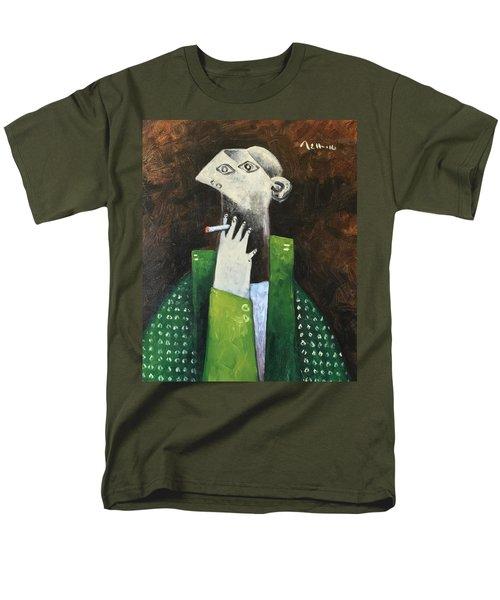 Vitae The Smoker Men's T-Shirt  (Regular Fit)