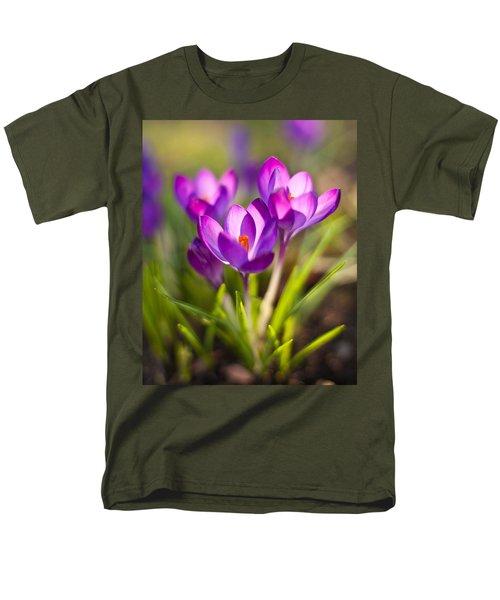 Vivid Petals Men's T-Shirt  (Regular Fit) by Mike Reid