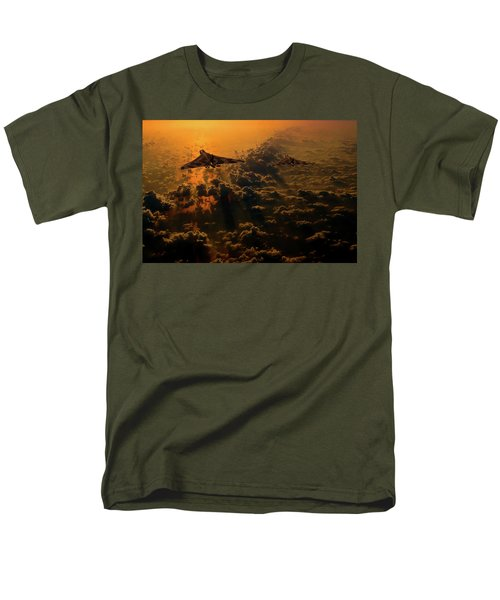 Vulcan Bomber Sunset Men's T-Shirt  (Regular Fit) by Ken Brannen