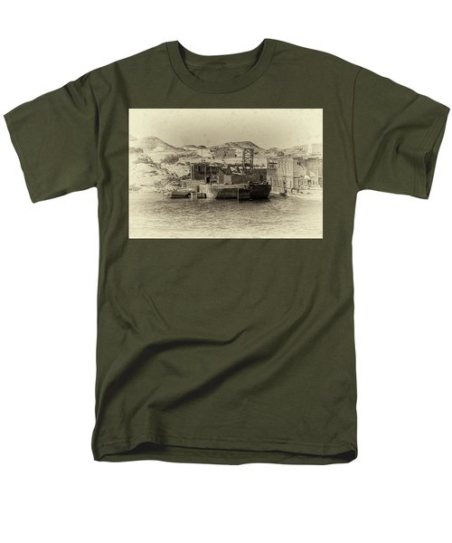 Wadi Al-sebua Antiqued Men's T-Shirt  (Regular Fit) by Nigel Fletcher-Jones