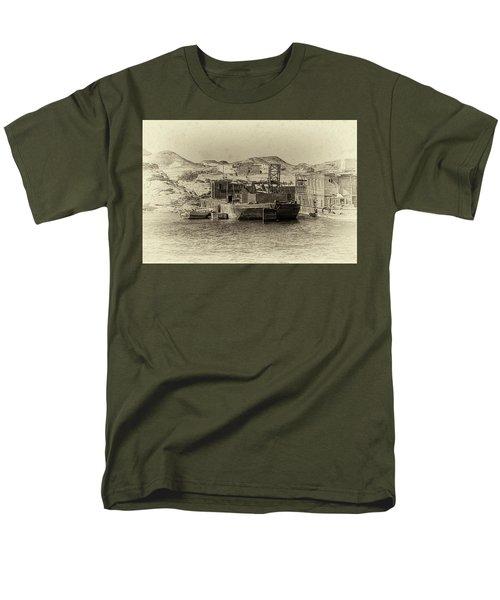 Wadi Al-sebua Antiqued Men's T-Shirt  (Regular Fit)