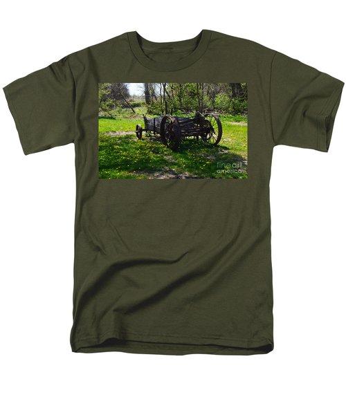 Wagon And Dandelions Men's T-Shirt  (Regular Fit) by Renie Rutten