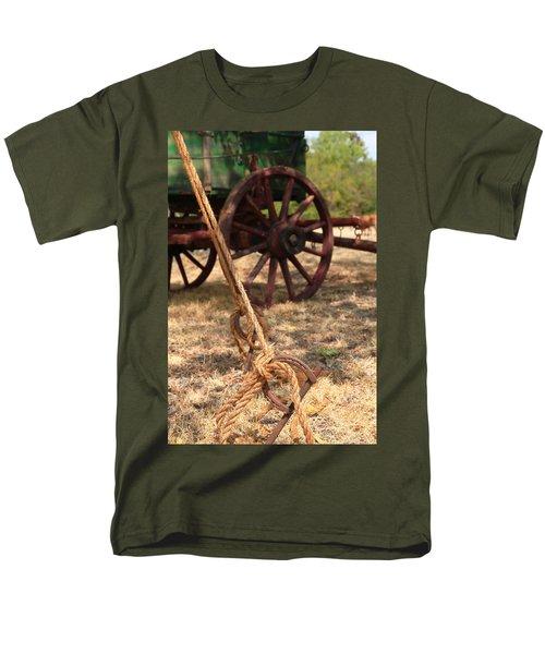 Wagon Stake Men's T-Shirt  (Regular Fit) by Toni Hopper