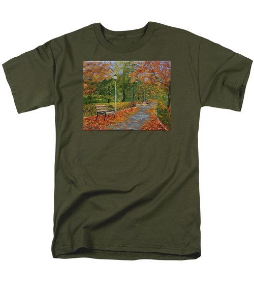 Walk In The Park Men's T-Shirt  (Regular Fit) by Mike Caitham