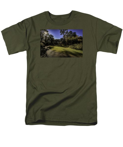Men's T-Shirt  (Regular Fit) featuring the photograph Walk In The Sun by Ken Frischkorn
