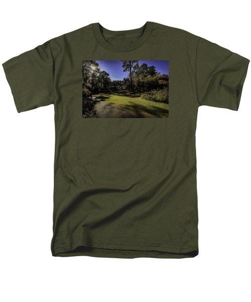 Walk In The Sun Men's T-Shirt  (Regular Fit)
