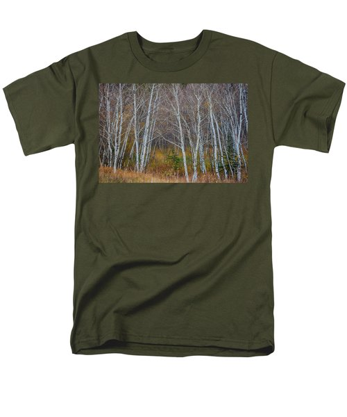 Men's T-Shirt  (Regular Fit) featuring the photograph Walk In The Woods by James BO Insogna