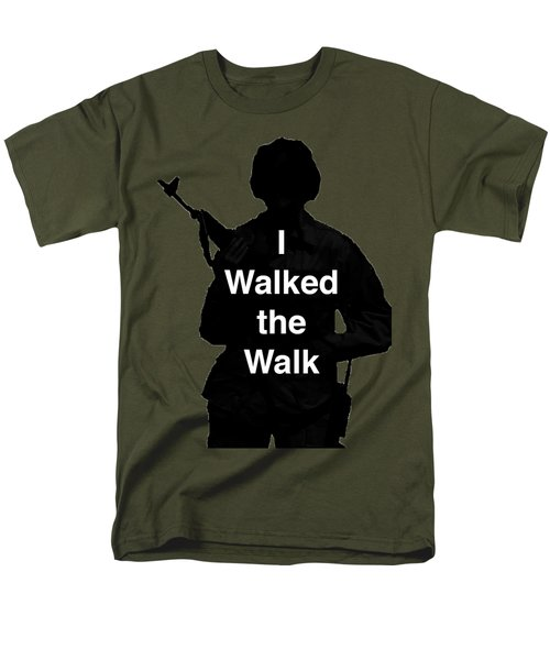 Walk The Walk Men's T-Shirt  (Regular Fit) by Melany Sarafis