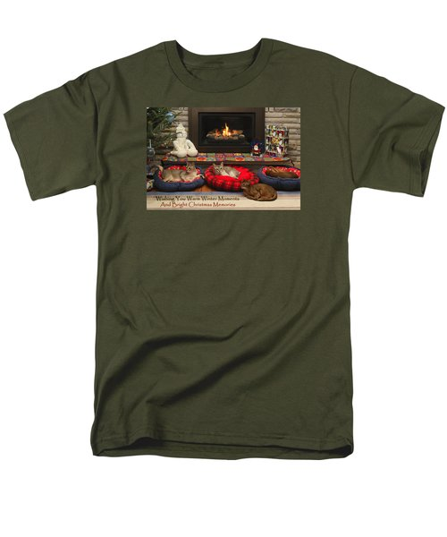 Warm Winter Moments Men's T-Shirt  (Regular Fit) by Gary Hall