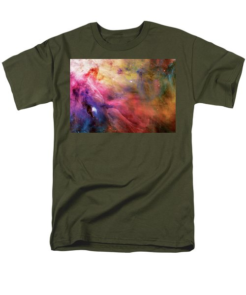 Warmth - Orion Nebula Men's T-Shirt  (Regular Fit) by Jennifer Rondinelli Reilly - Fine Art Photography