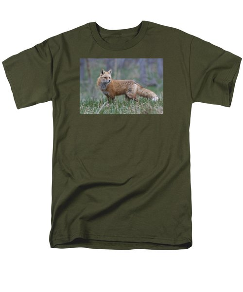 Men's T-Shirt  (Regular Fit) featuring the photograph Watchful by Gary Lengyel