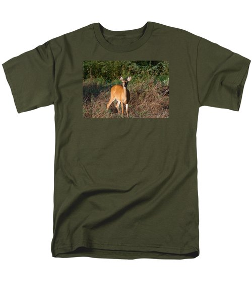 Men's T-Shirt  (Regular Fit) featuring the photograph Watching Me Closely by Monte Stevens