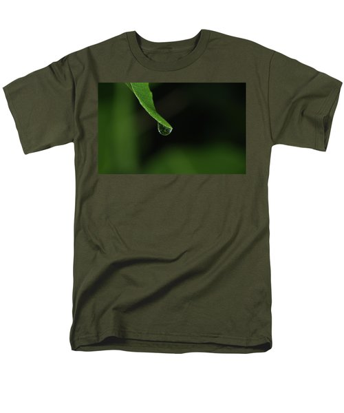 Men's T-Shirt  (Regular Fit) featuring the photograph Water Drop by Richard Rizzo
