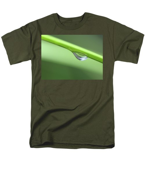 Men's T-Shirt  (Regular Fit) featuring the photograph Water Droplet II by Richard Rizzo