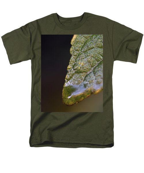 Men's T-Shirt  (Regular Fit) featuring the photograph Water Droplet V by Richard Rizzo