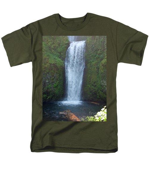 Water Fall Men's T-Shirt  (Regular Fit) by Shari Nees