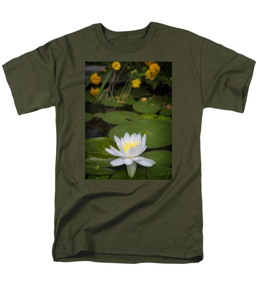 Water Lily IIi Men's T-Shirt  (Regular Fit)