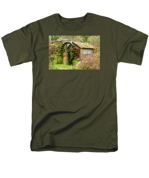 Water Wheel Men's T-Shirt  (Regular Fit) by Sean Griffin