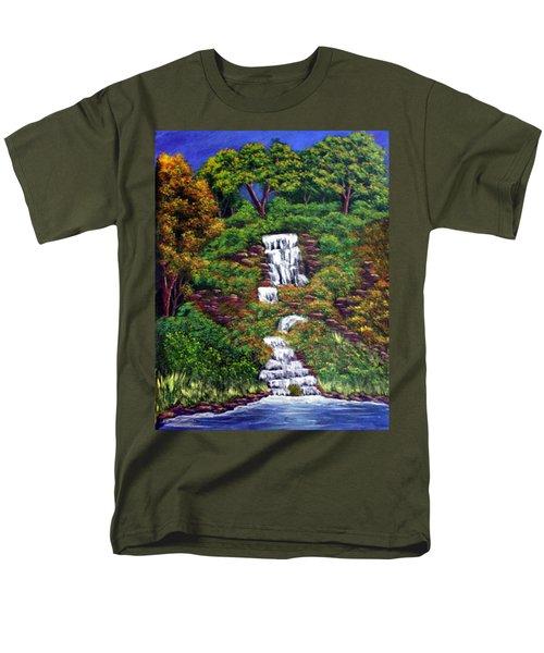 Waterfall Men's T-Shirt  (Regular Fit)
