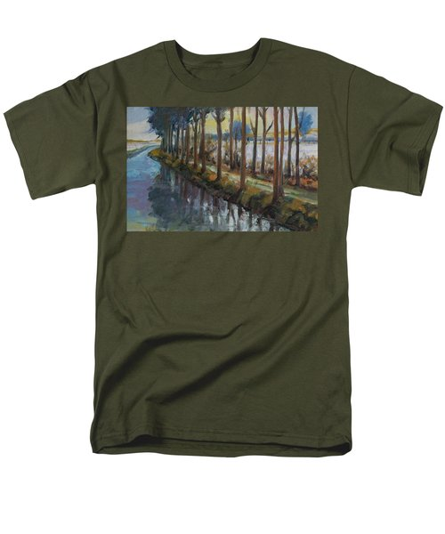 Waterway Men's T-Shirt  (Regular Fit) by Rick Nederlof