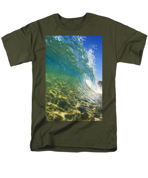 Wave - Makena Men's T-Shirt  (Regular Fit) by MakenaStockMedia