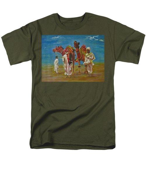Way Of Life Men's T-Shirt  (Regular Fit) by Khalid Saeed