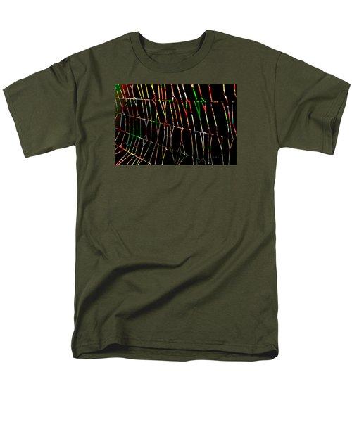 Web Men's T-Shirt  (Regular Fit) by Don Gradner