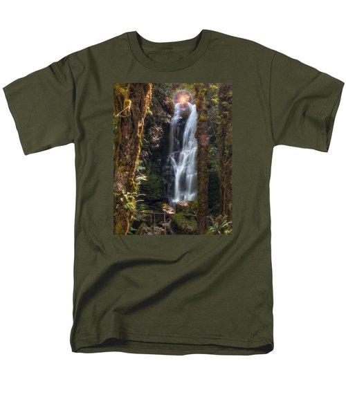 Weeping Angel Men's T-Shirt  (Regular Fit) by James Heckt