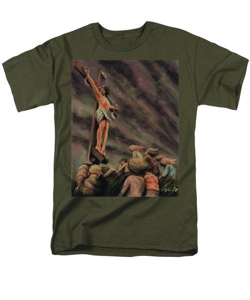 Weeping Children Men's T-Shirt  (Regular Fit) by Dave Luebbert