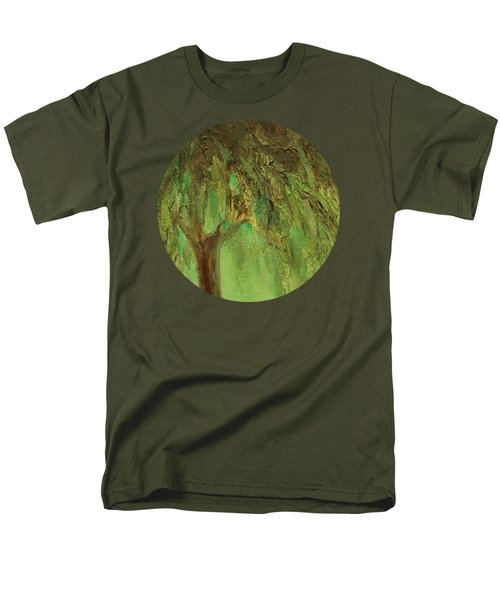Weeping Willow Men's T-Shirt  (Regular Fit) by Mary Wolf