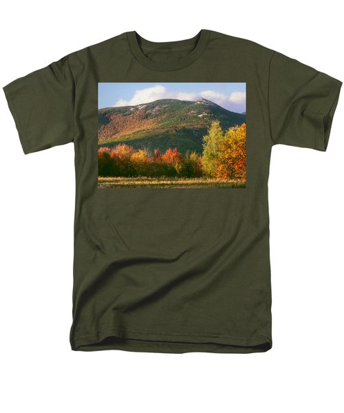 Welch And Dickey Mountains Men's T-Shirt  (Regular Fit) by Nancy Griswold