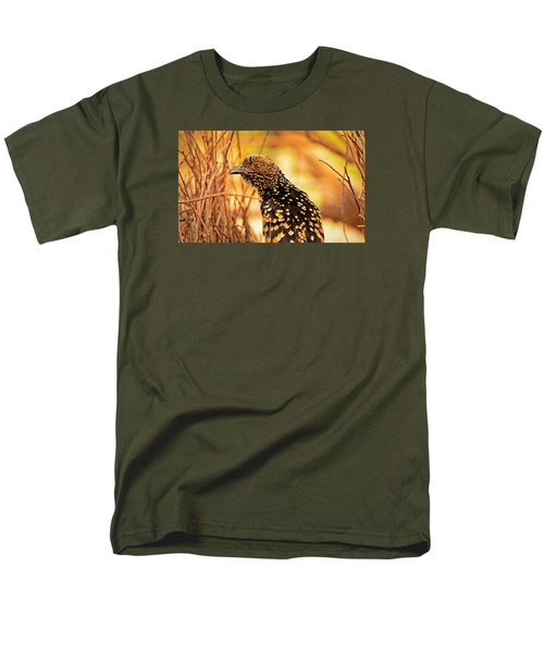 Western Bowerbird Men's T-Shirt  (Regular Fit) by Racheal  Christian