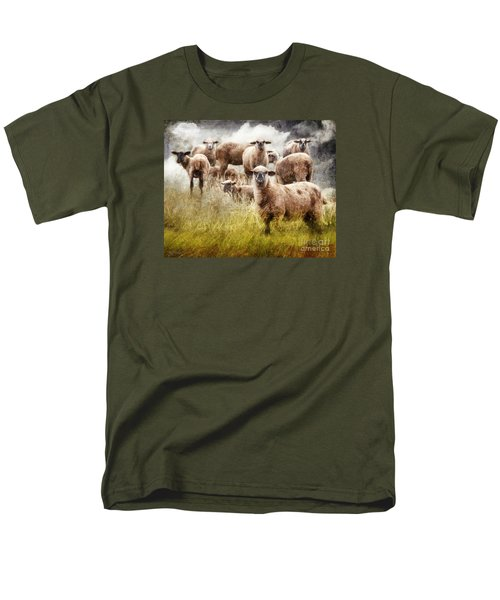 Men's T-Shirt  (Regular Fit) featuring the photograph What You Lookin' At? by Rhonda Strickland