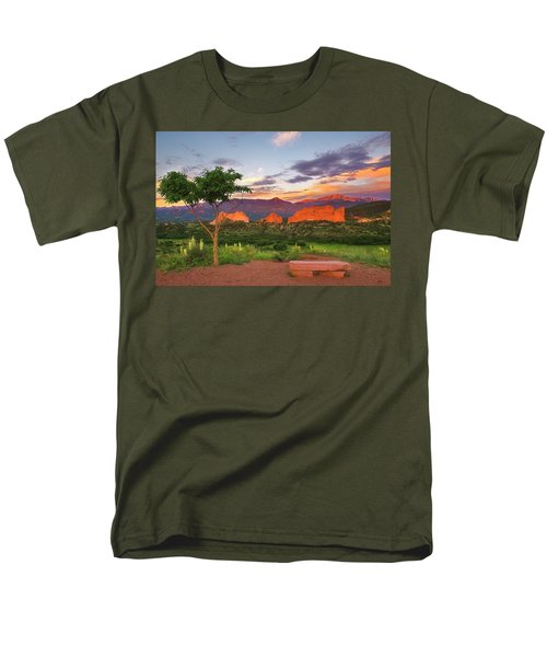 Where Beauty Overwhelms Men's T-Shirt  (Regular Fit) by Tim Reaves