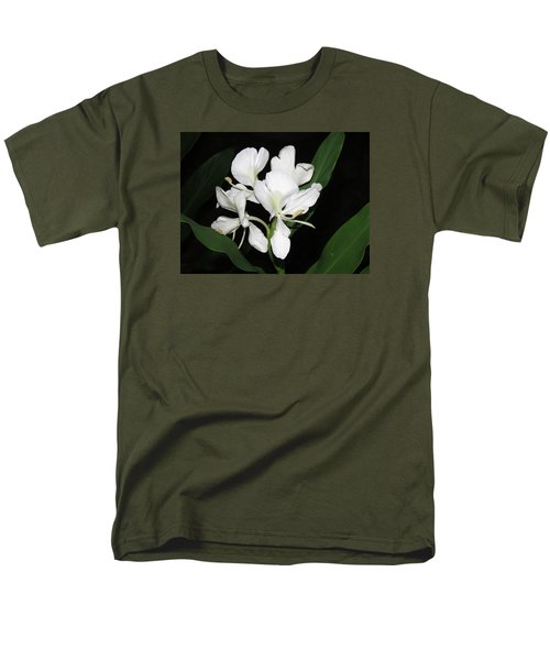 Men's T-Shirt  (Regular Fit) featuring the photograph White Ginger by Phyllis Beiser