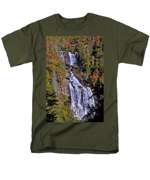White Water Falls Men's T-Shirt  (Regular Fit) by John Gilbert