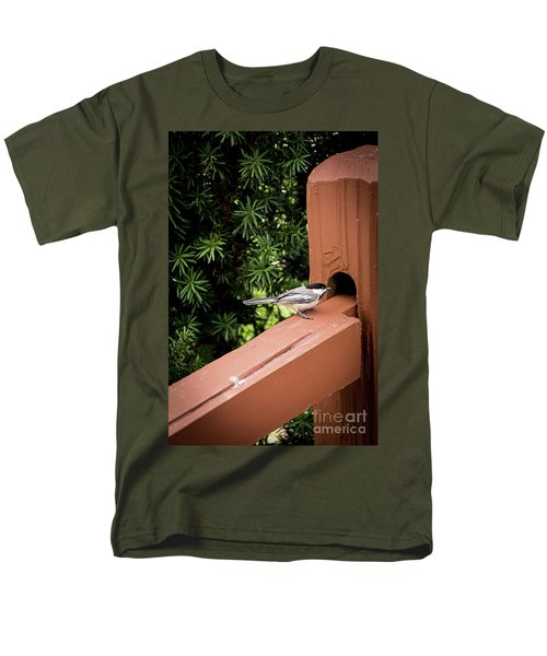 Who's In There? Men's T-Shirt  (Regular Fit) by Deborah Klubertanz