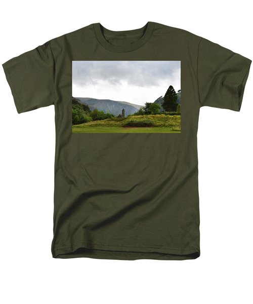Men's T-Shirt  (Regular Fit) featuring the photograph Wicklow Mountains by Terence Davis