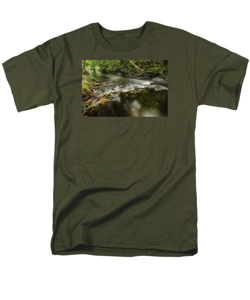 Wicklow Stream Men's T-Shirt  (Regular Fit) by Martina Fagan