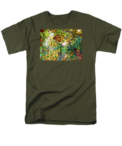 wild and Weedy Men's T-Shirt  (Regular Fit) by Shirley Moravec