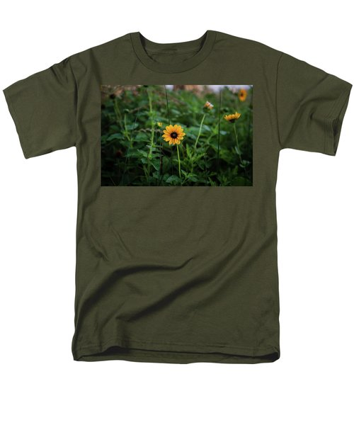 Wild At Hearts And Flowers Men's T-Shirt  (Regular Fit)