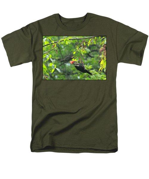 Wild Cherry Snack Men's T-Shirt  (Regular Fit) by Tammy Schneider