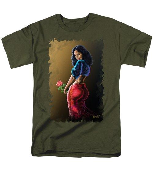 Wild Rose Men's T-Shirt  (Regular Fit) by Anthony Mwangi