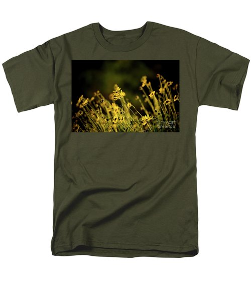 Wild Spring Flowers Men's T-Shirt  (Regular Fit) by Kelly Wade