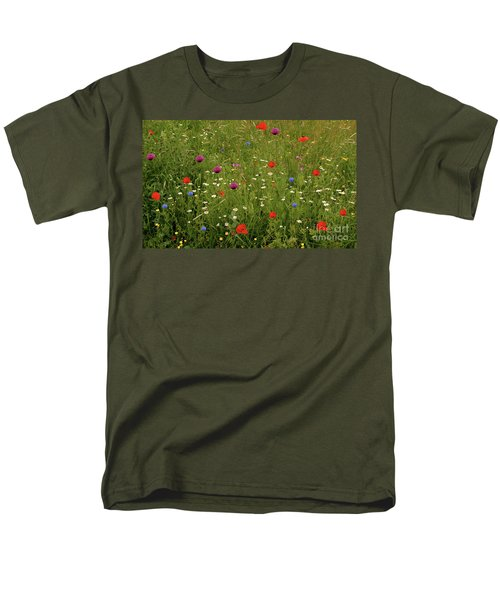 Wild Summer Meadow Men's T-Shirt  (Regular Fit)