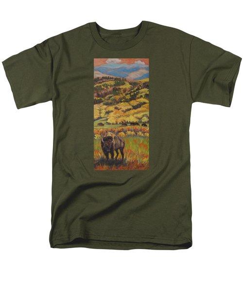 Wild West Splendor Men's T-Shirt  (Regular Fit)