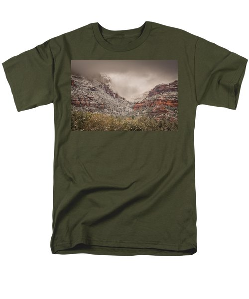Boynton Canyon Arizona Men's T-Shirt  (Regular Fit) by Racheal Christian