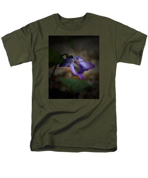 Wildflower Men's T-Shirt  (Regular Fit) by Karen Harrison