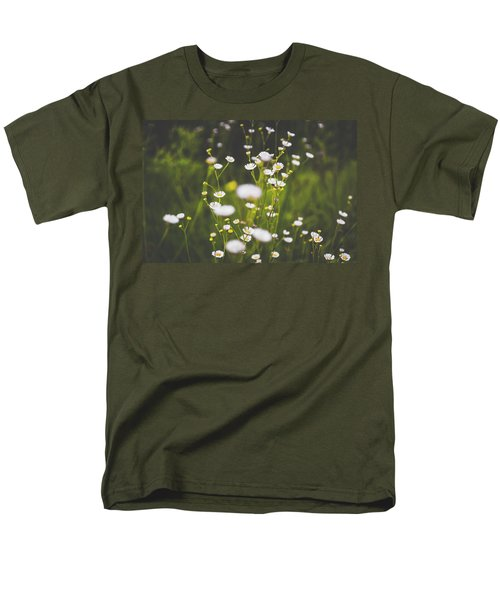 Men's T-Shirt  (Regular Fit) featuring the photograph Wildflowers In Summer by Shelby Young